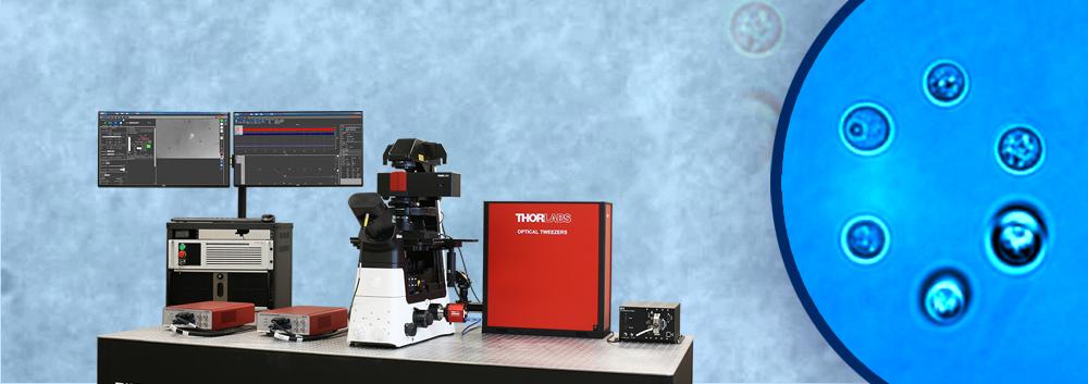 Optical Tweezers Microscope System