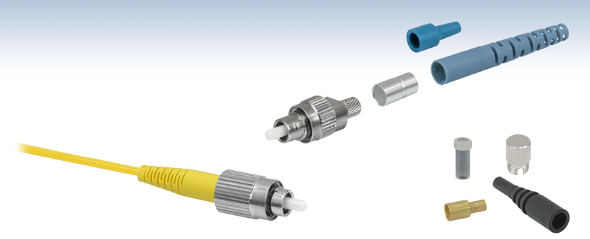 Fc Pc Fiber Connectors Single Mode And Polarization