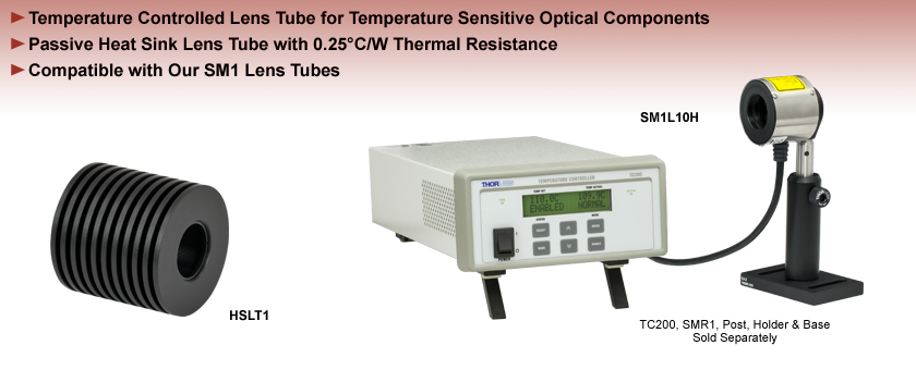 Temperature Controlled Lens Tubes