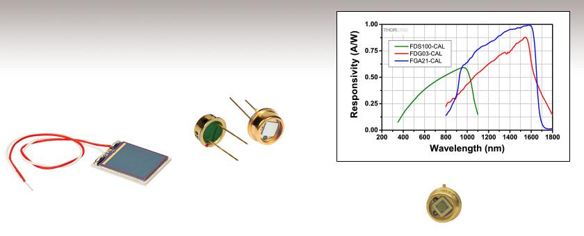 Calibrated Photodiodes