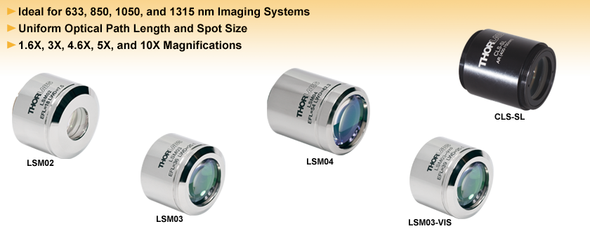Scan Lenses for Laser Scanning Microscopy
