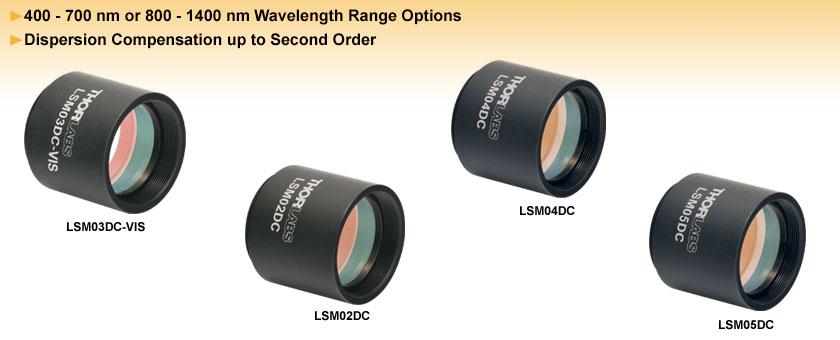 Dispersion Compensators for Scan Lenses