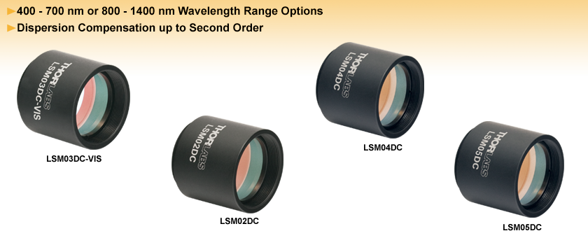 Dispersion Compensators for Scan Lenses