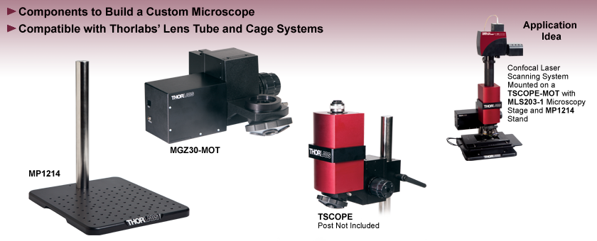 Microscopes, Focus Blocks, and Accessories