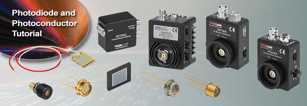 Photodiodes and Photoconductors Tutorials
