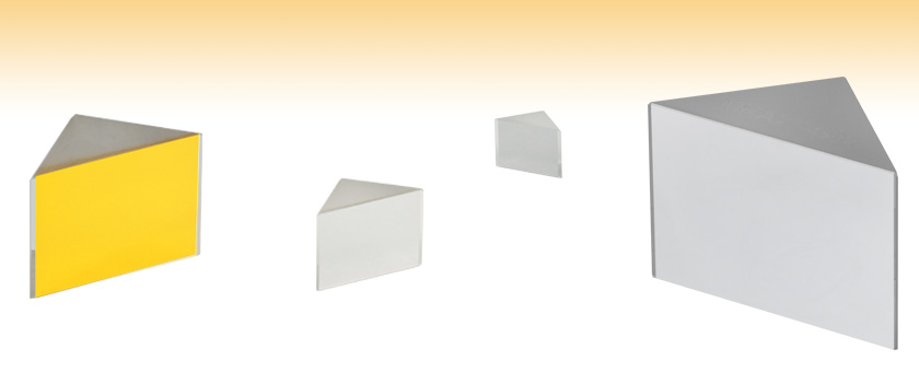 Right Angle Prism Mirrors Metallic Coatings