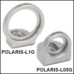 Lens-Optimized Polaris Glue-In Fixed Optic Mounts