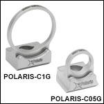 Mirror-Optimized Polaris Glue-In Fixed Optic Mounts