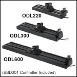 1470 ps, 2000 ps, and 4000 ps Optical Delay Lines with Benchtop Controller