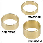 Ø1/2in Brass Optic Spacers