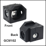 Mounting Adapter for Small Beam 2D Galvo Mirrors and Scan Lenses