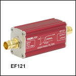 High-Pass Electrical Filter, In-Line, 1.2 kHz to 52 kHz