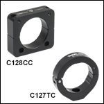 Clamps for Aluminum Lens Tube Covers