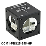 Cube-Mounted High Power Laser-Line Polarizing Beamsplitters