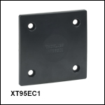 End Plate for 95 mm Construction Rails