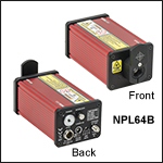 Pulsed Lasers with Adjustable Pulse Width: 5 - 39 ns,Pulse Energy:1.2 -3.5 nJ