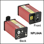Pulsed Laser with Fixed Pulse Width: 10 ns, Pulse Energy: 0.12 nJ