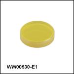 Barium Fluoride (BaF<sub>2</sub>) Wedged Windows, AR Coating: 2 - 5 µm