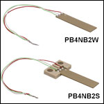 150 V Piezoelectric Benders
