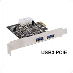 Super Speed USB 3.0 Type-A toMicro-B Cable and PCIe Card