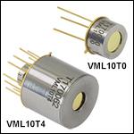 HgCdTe (MCT) Photovoltaic Detectors: 2.0 - 10.6 µm