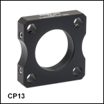 C-Mount-Threaded Cage Plate