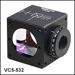 Cube-Mounted Variable Circular Polarizers