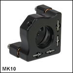 Ø10 mm Mini-Series Kinematic Mirror Mount
