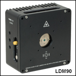 Temperature-Controlled Mount for Ø9.0 mm Laser Diodes
