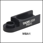Pedestal Post Holder Base, #8 (M4) Slot