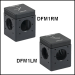 30 mm Cage-Compatible, Kinematic Beam-Turning Cubes for Right-Angle Mirrors