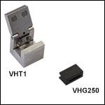 Fiber Transfer Clamp and Graphite V-Grooves - Required for VHF Transfer Bottom Inserts