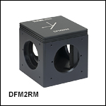 60 mm Cage-Compatible, Kinematic Beam-Turning Cubes for Right-Angle Mirrors