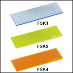 Fluorescent Microscope Slides, 25.4 mm x 76.2 mm