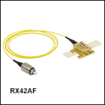 42 GHz Amplified Photoreceiver Module