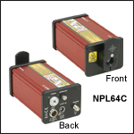 Pulsed Lasers with Adjustable Pulse Width:6 - 129 ns, Pulse Energy: =126 nJ