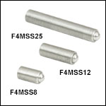 M4 x 0.25 Fine Hex Adjusters with 2.0 mm (5/64in) Hex