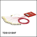 1310 / 1550 nm 1x16 Dual-Window Fiber Optic Splitters