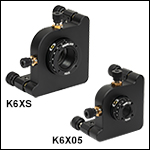 6-Axis Kinematic Optic Mounts