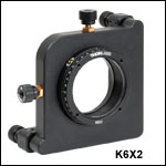 6-Axis Kinematic Mount for Ø2in Optics