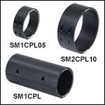 Lens Tube Flexure Sleeve Couplers