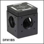30 mm Cage-Compatible, KinematicBeamsplitter Cube