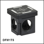 30 mm Cage-Compatible, Kinematic Beamsplitter Cube Insert and Base