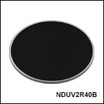 Ø50 mm UV Fused Silica Metallic ND Filters, Unmounted