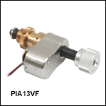 13 mm Travel Vacuum-Compatible Piezo Inertia Actuator