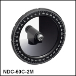 Mounted Round Variable ND Filters, Uncoated