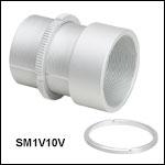 SM1-Threaded Vacuum-Compatible Adjustable Lens Tube