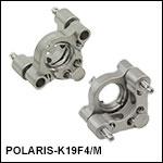 Ø19 mm Low-Distortion Kinematic Mounts, 2 Adjusters