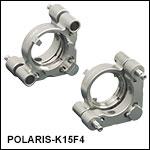 Ø1.5in Polaris Low-Distortion Kinematic Mount, 2 Adjusters