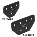 Tee Gusset Plates for 25 mm Rails